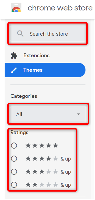 Suchen Sie ein Thema mithilfe der Suchleiste oder nach Kategorien und Bewertungen
