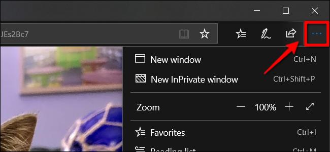 Drucken Sie Bilder von Microsoft Edge