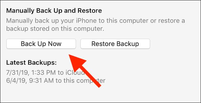 Sichern Sie Ihr iPhone oder iPad mit iTunes