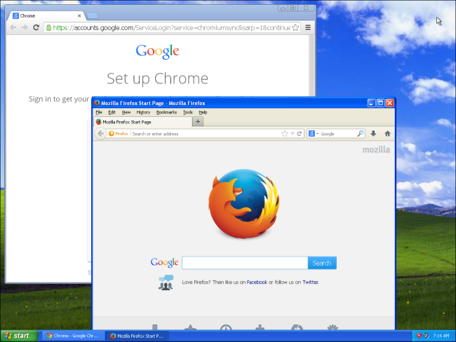 Chrom-und-Firefox-auf-Windows-XP