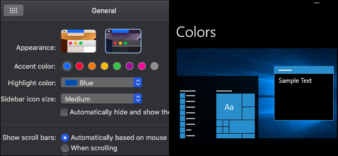 Der dunkle Modus von macOS Mojave beschämt Windows 10