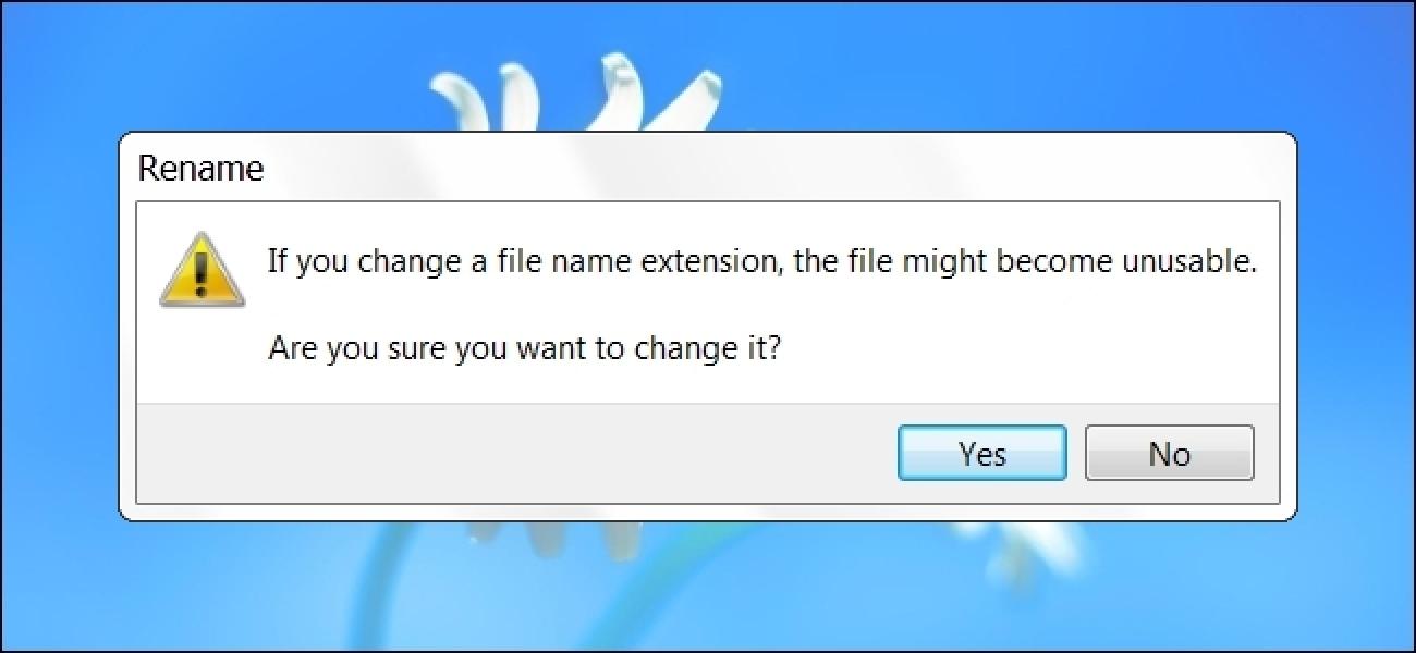 Können EXE-Dateierweiterungen immer durch COM ersetzt werden?