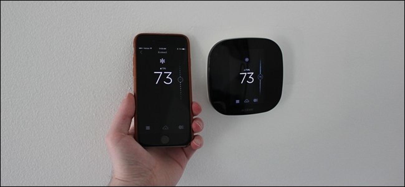 So aktivieren Sie HomeKit auf dem Ecobee-Thermostat