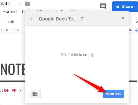 """Klicken """"Komm her"""" um die Datei in diesen Ordner zu verschieben."""