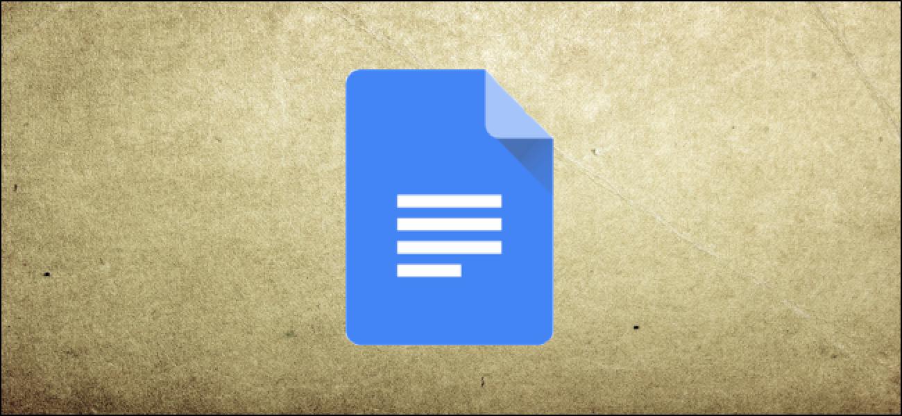 So erstellen Sie Vorlagen in Google Text & Tabellen