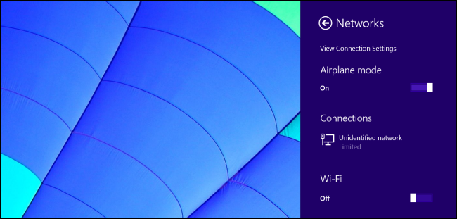 Windows-8.1-Flugzeug-Modus