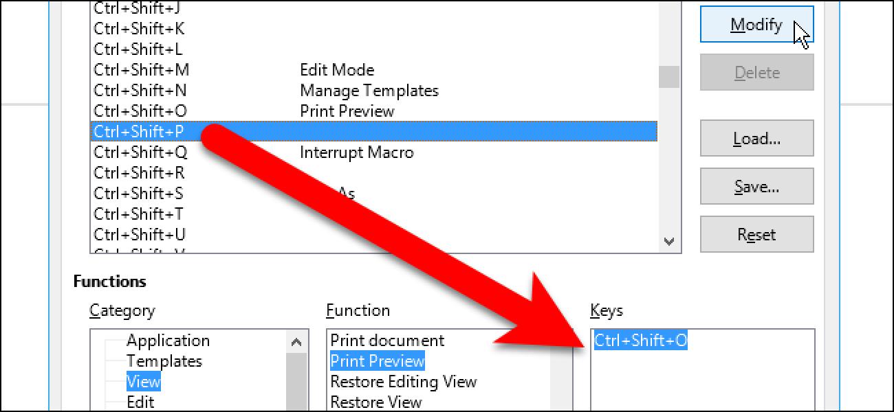 So passen Sie Tastaturkürzel in LibreOffice an