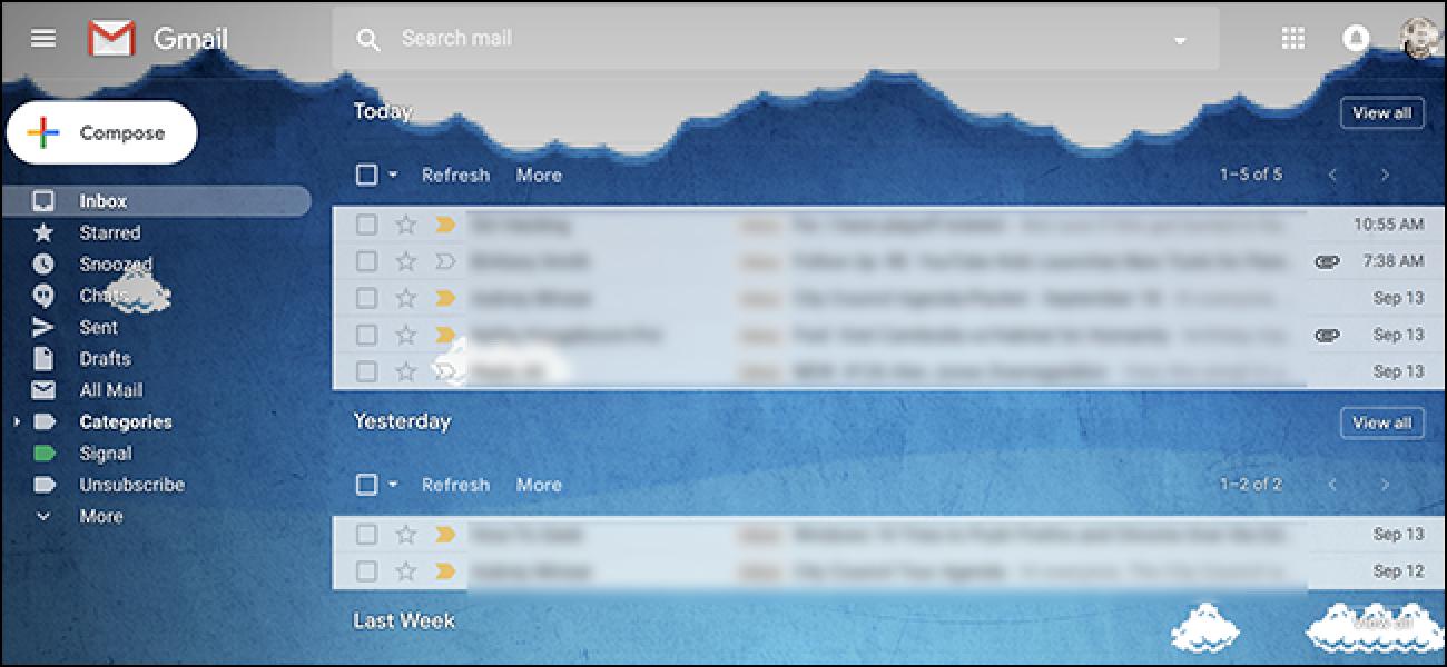 Gruppieren Sie Ihren Google Mail-Posteingang nach Datum wie Google Posteingang (und Outlook)