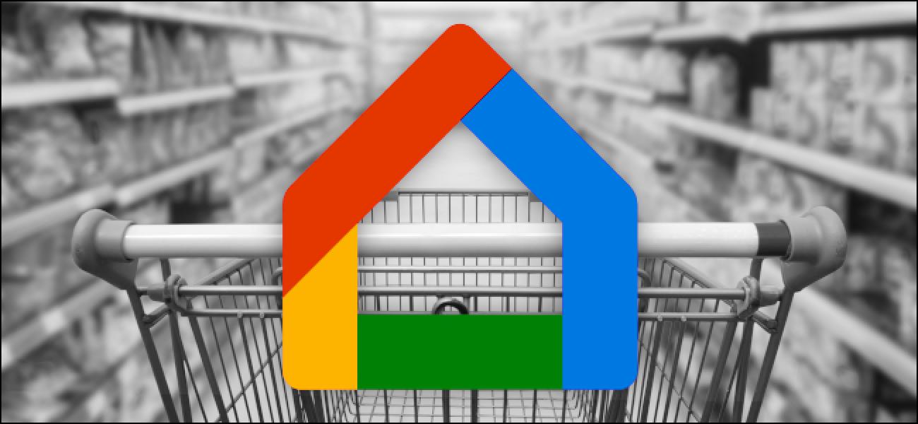 So wählen Sie Ihre Einkaufslisten-App in der Google Home-App aus