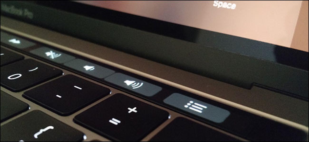 So fügen Sie Symbole zur Touch-Leiste Ihres MacBook Pro hinzu oder entfernen sie