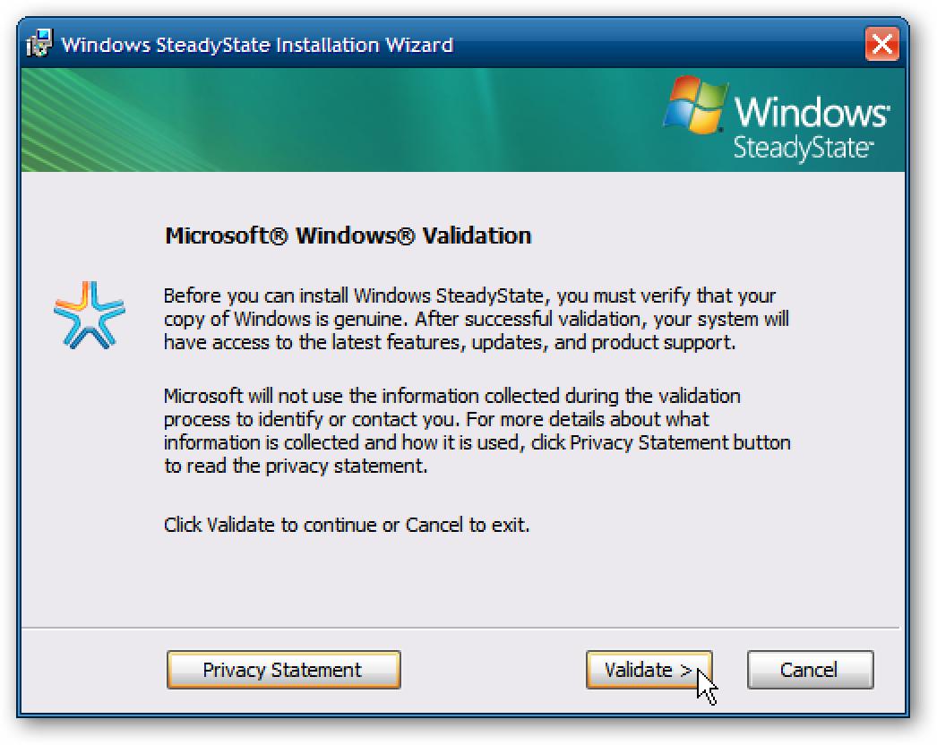 Windows SteadyState bringt Ihren PC auf Normal zurück