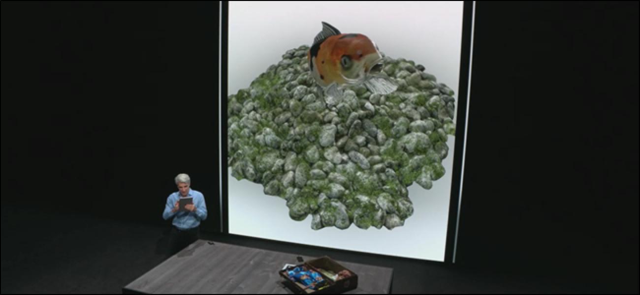 """iOS 12 führt """"USDZ"""" ein, ein neues Dateiformat nur für AR-Videos"""