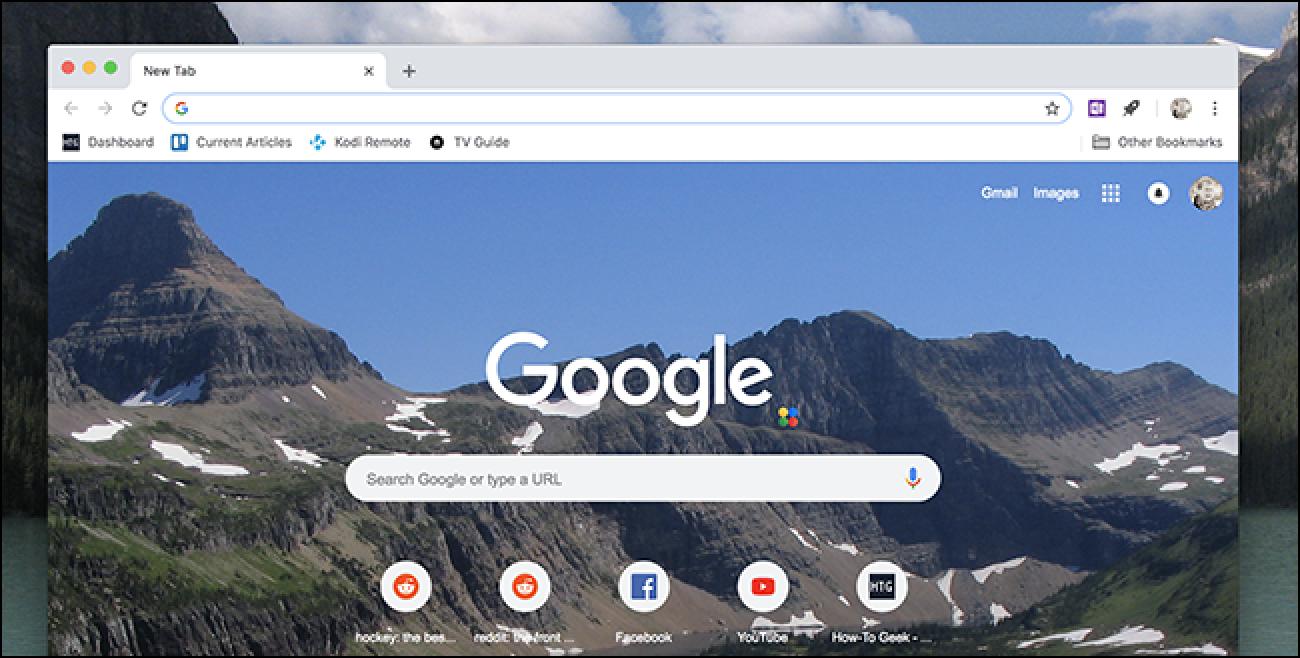 Passen Sie die neue Registerkarte von Chrome an, keine Erweiterungen erforderlich