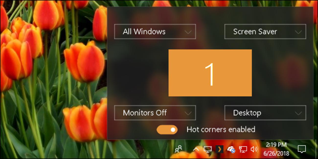 Fügen Sie Windows 10 Hot Corners im Mac-Stil hinzu