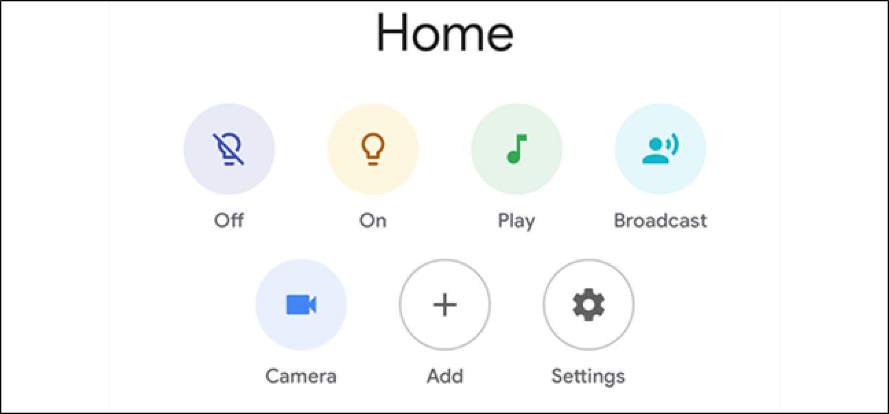Googles Home App erhält eine schlanke Verjüngungskur