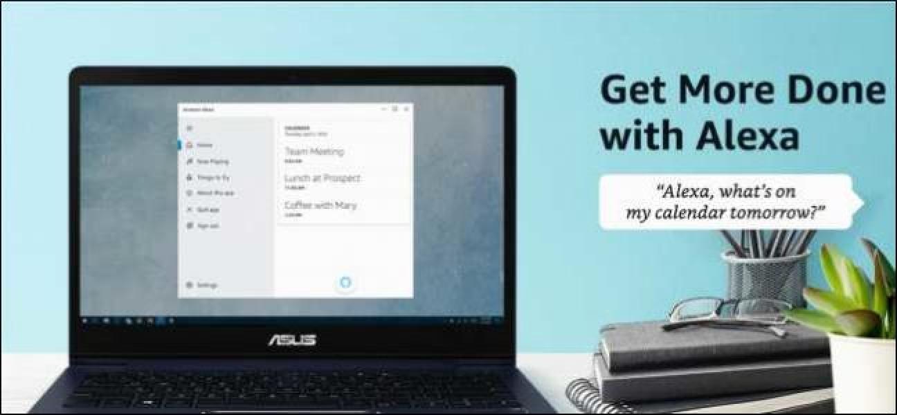 Sie können jetzt die Amazon Alexa App unter Windows 10 herunterladen