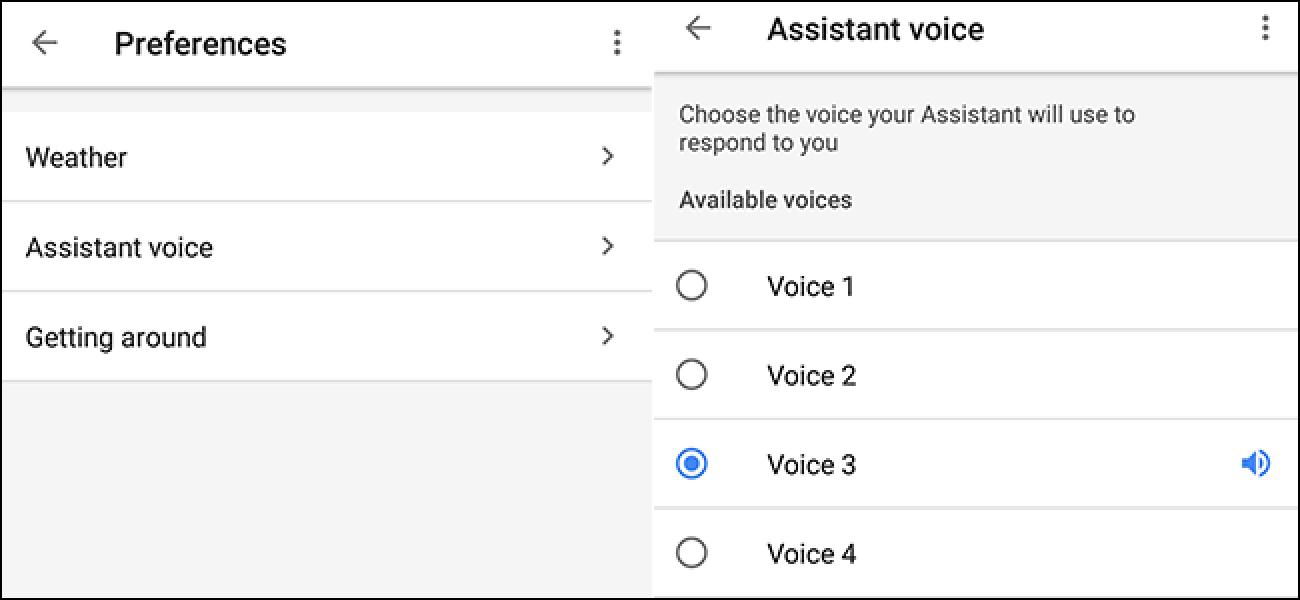 Wählen Sie aus sechs neuen Stimmen für Google Assistant, die jetzt verfügbar sind