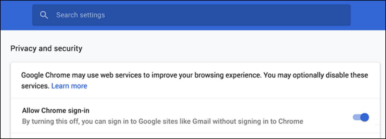 Mit Chrome 70 können Benutzer die neue Funktion für die automatische Anmeldung deaktivieren