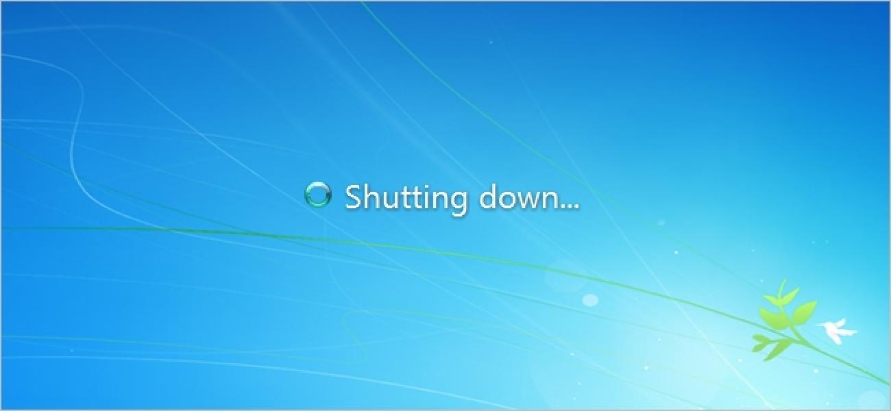 Verursacht das Herunterfahren von Windows über die Eingabeaufforderung Schäden?