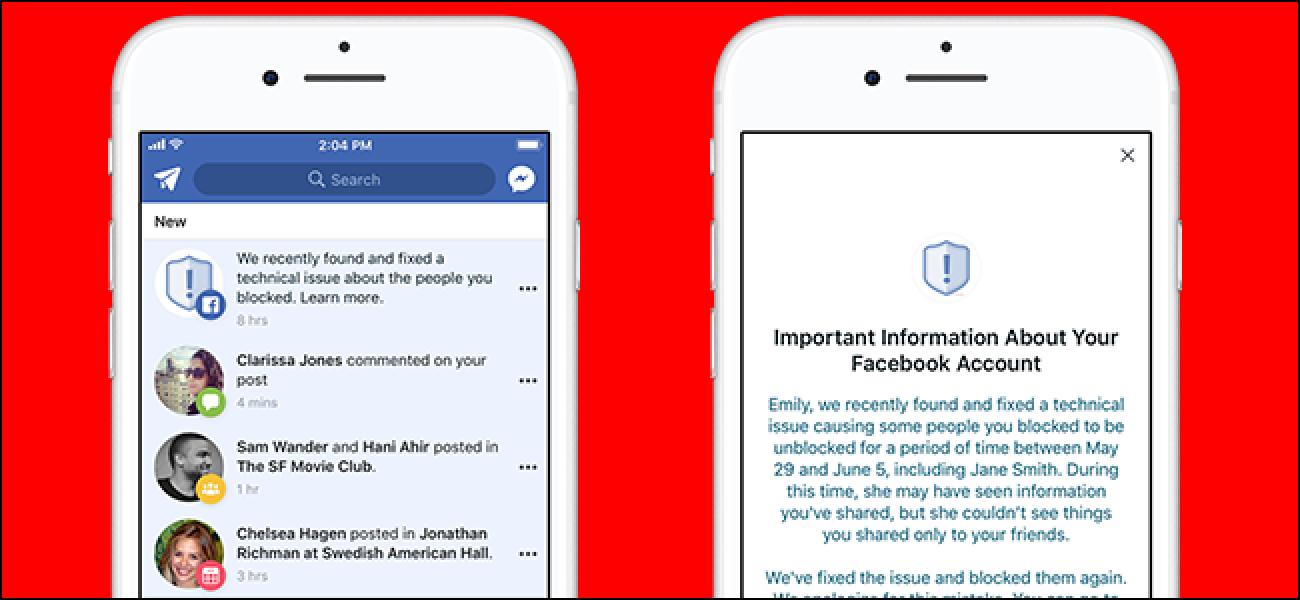Facebook Bug gab blockierten Benutzern Zugriff auf Ihre Beiträge und Fotos