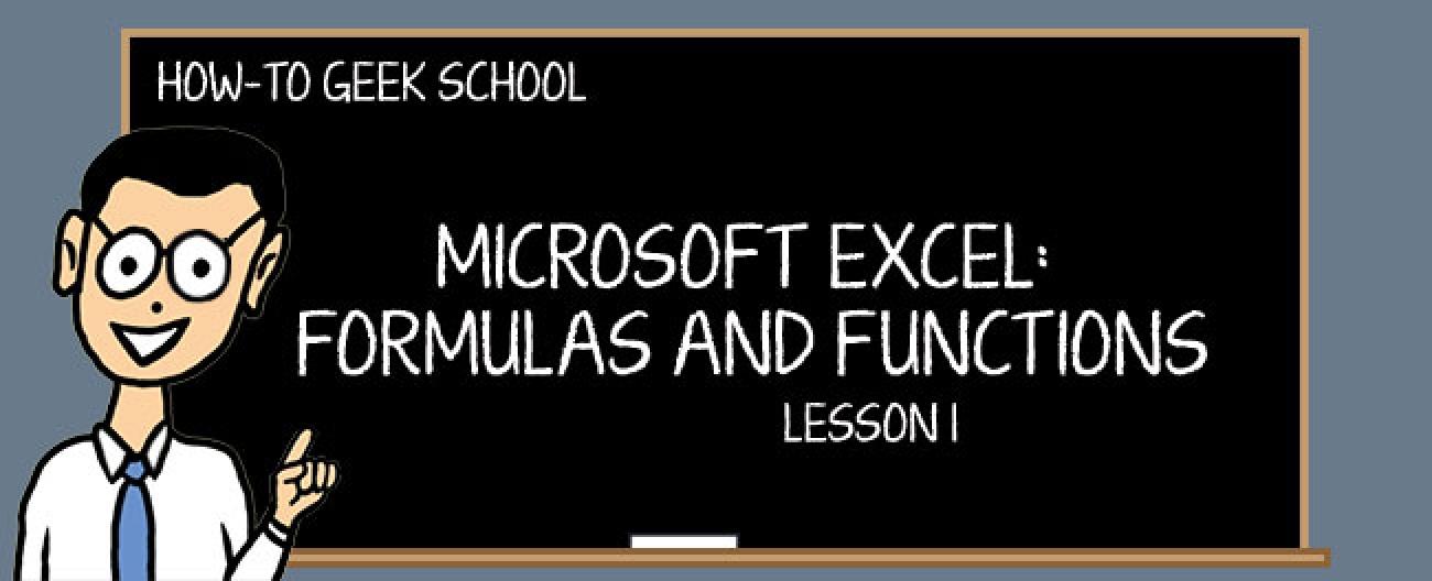 Warum brauchen Sie Formeln und Funktionen?