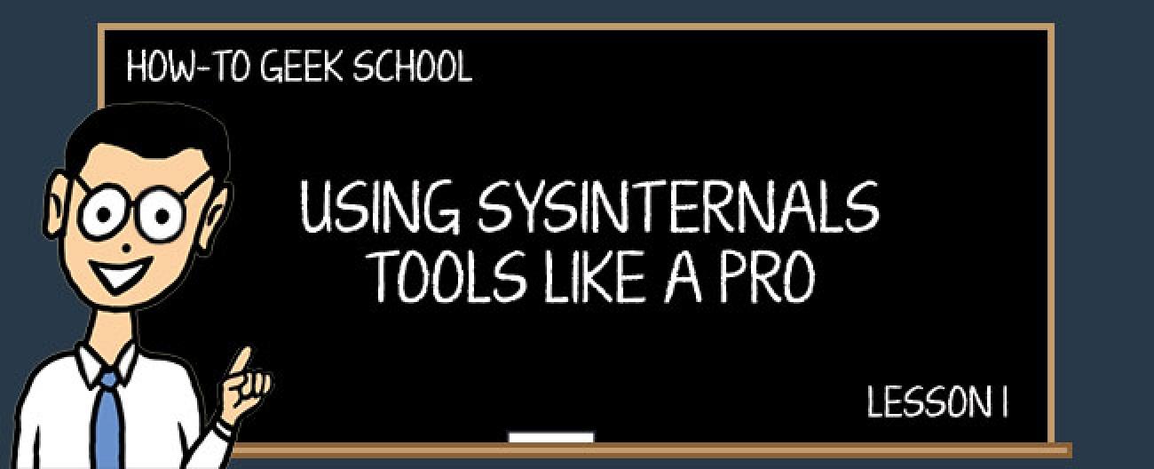 Was sind die SysInternals-Tools und wie verwenden Sie sie?