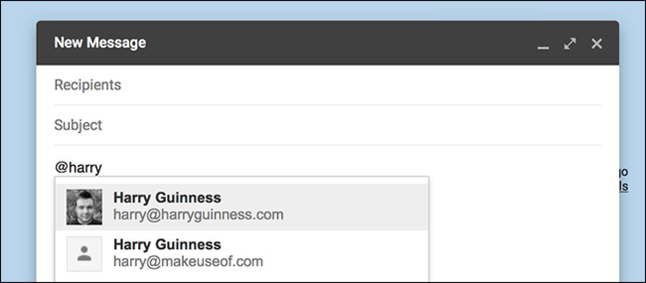 Sie können jetzt @ Personen in Google Mail