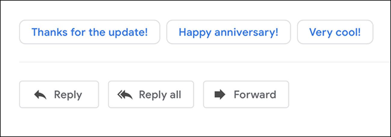 Mit Google Mail können Sie intelligente Antworten auf dem Desktop bald deaktivieren