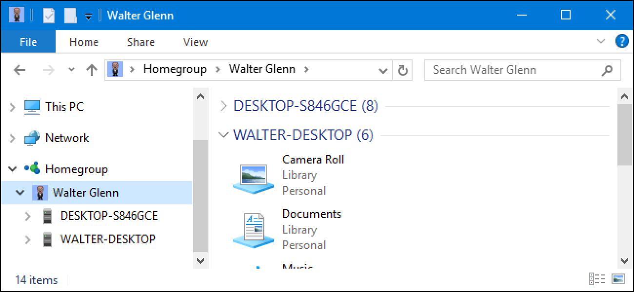 Microsoft hat gerade HomeGroups von Windows 10 entfernt