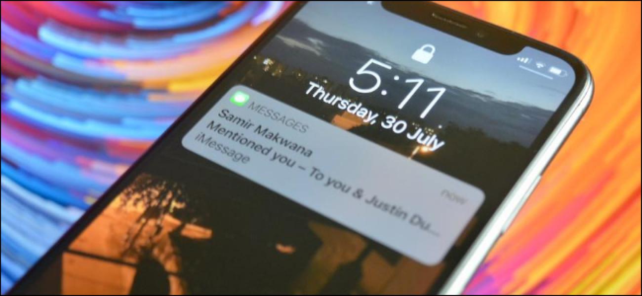 Erwähnen von jemandem in iMessage-Gruppen auf iPhone und iPad
