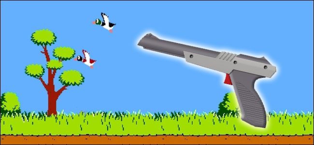 Wie der Nintendo NES Zapper funktioniert und warum er auf HDTVs nicht funktioniert