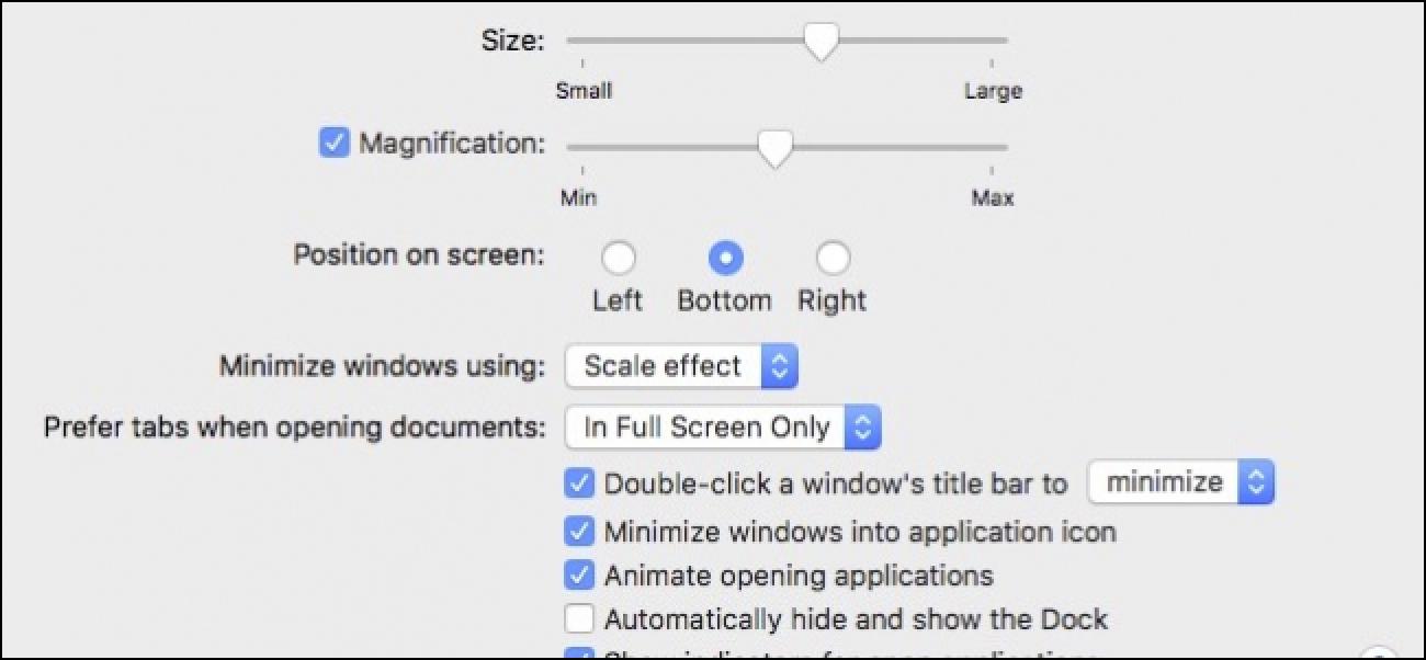 So stellen Sie macOS-Anwendungen so ein, dass sie auf das Dock-Symbol minimiert werden