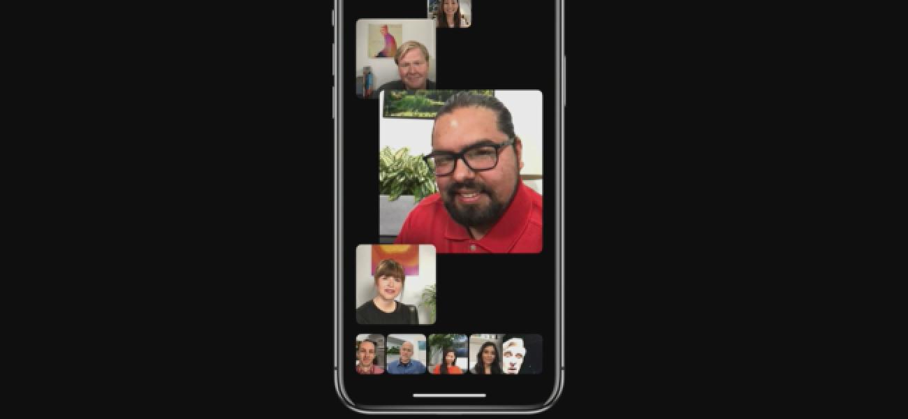 FaceTime unterstützt bis zu 32 Personen bei einem Gruppenanruf