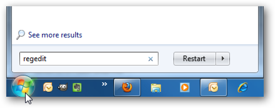 Erhöhen Sie den Live TV-Pausenpuffer in Windows 7 Media Center