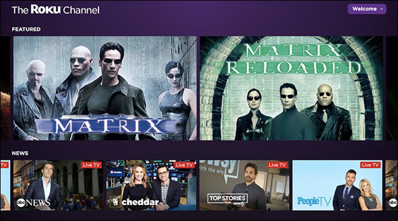 Sehen Sie mit dem Roku-Kanal online Free-TV und Filme in Ihrem Browser (kein Roku erforderlich)