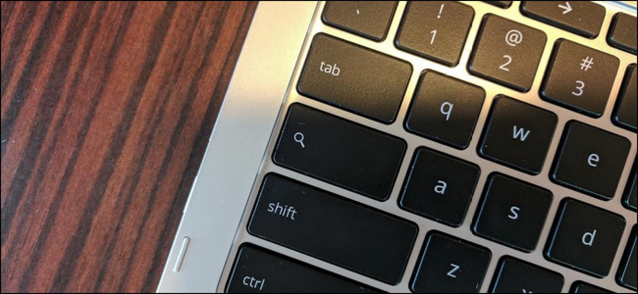 So legen Sie die Feststelltaste als Suchschaltfläche für externe Tastaturen auf Chromebooks fest