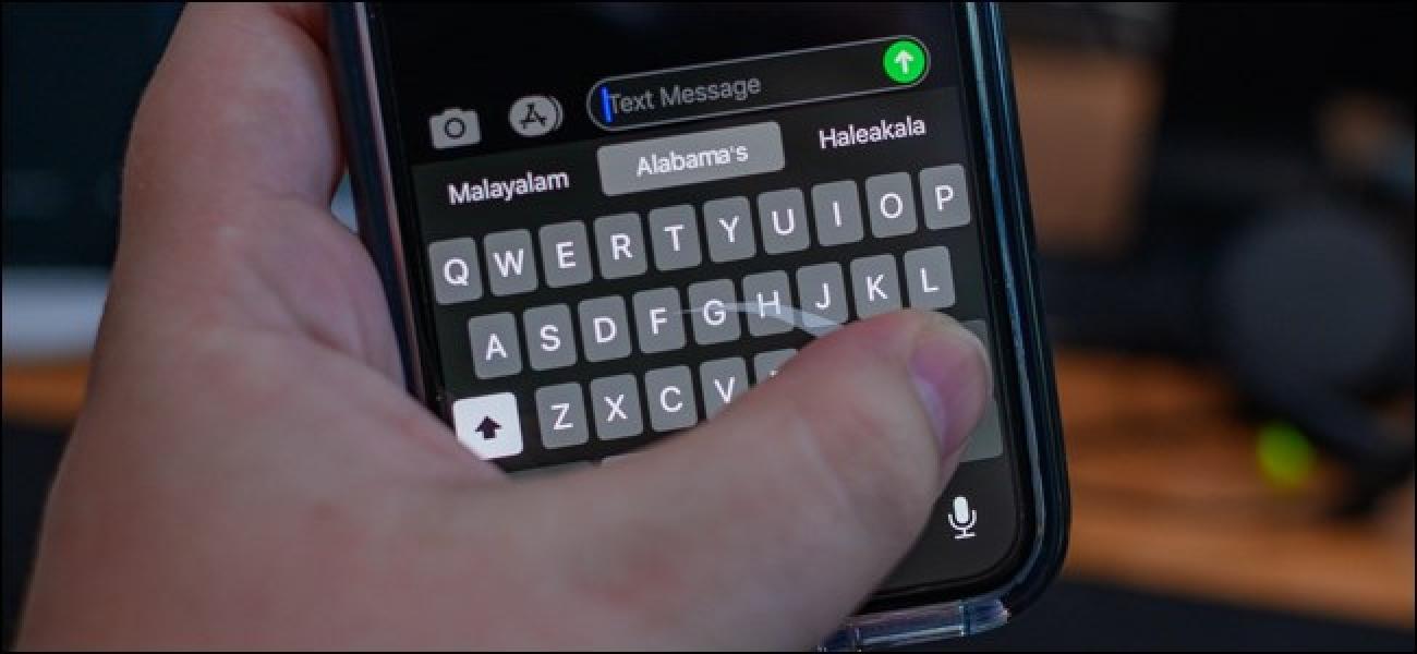 So deaktivieren Sie die Swipe-Eingabe auf der iPhone-Tastatur