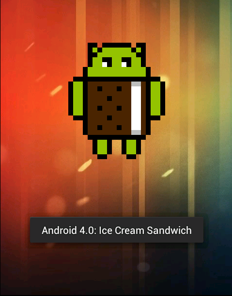 Android Eis Sandwich Osterei