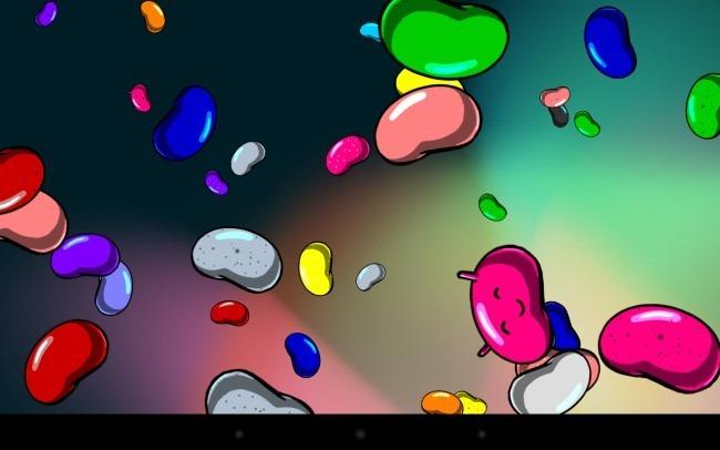 android schwimmende Gummibärchen