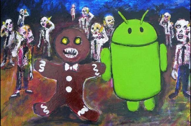 Android Lebkuchen Zombie Osterei