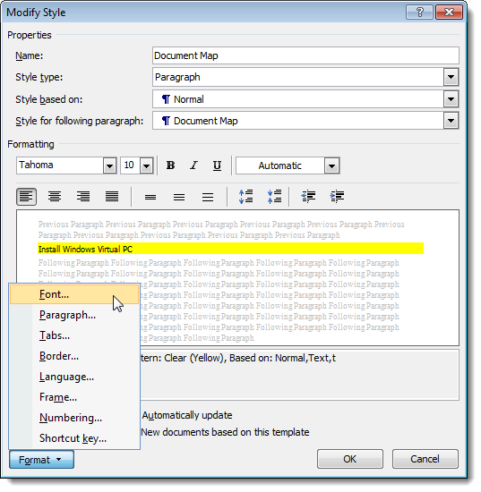 09_changing_formatting_for_document_map_style