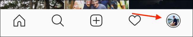 Tippen Sie auf Ihr Profilsymbol.