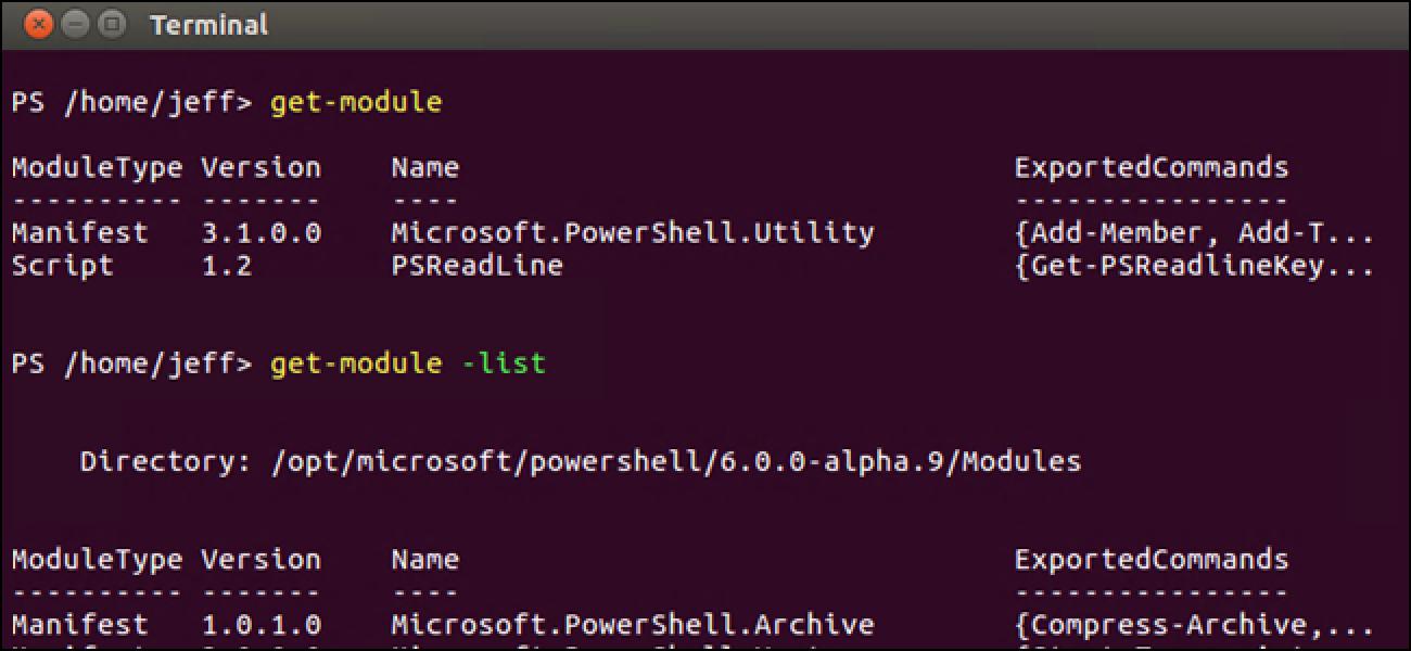 Funktioniert PowerShell unter anderen Betriebssystemen als Windows?