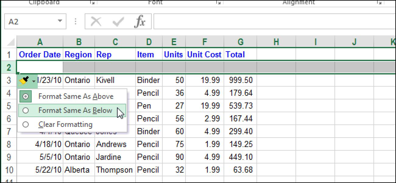 So deaktivieren Sie die schwebende Schaltfläche zum Einfügen von Optionen in Excel