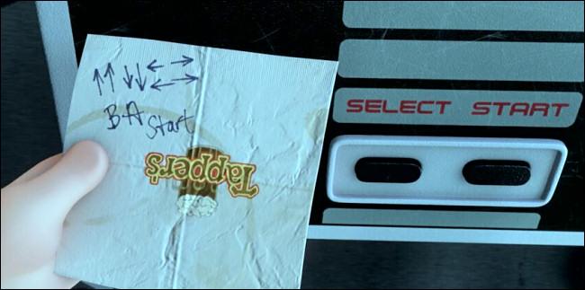 Der Konami-Code erscheint in Wreck-It Ralph