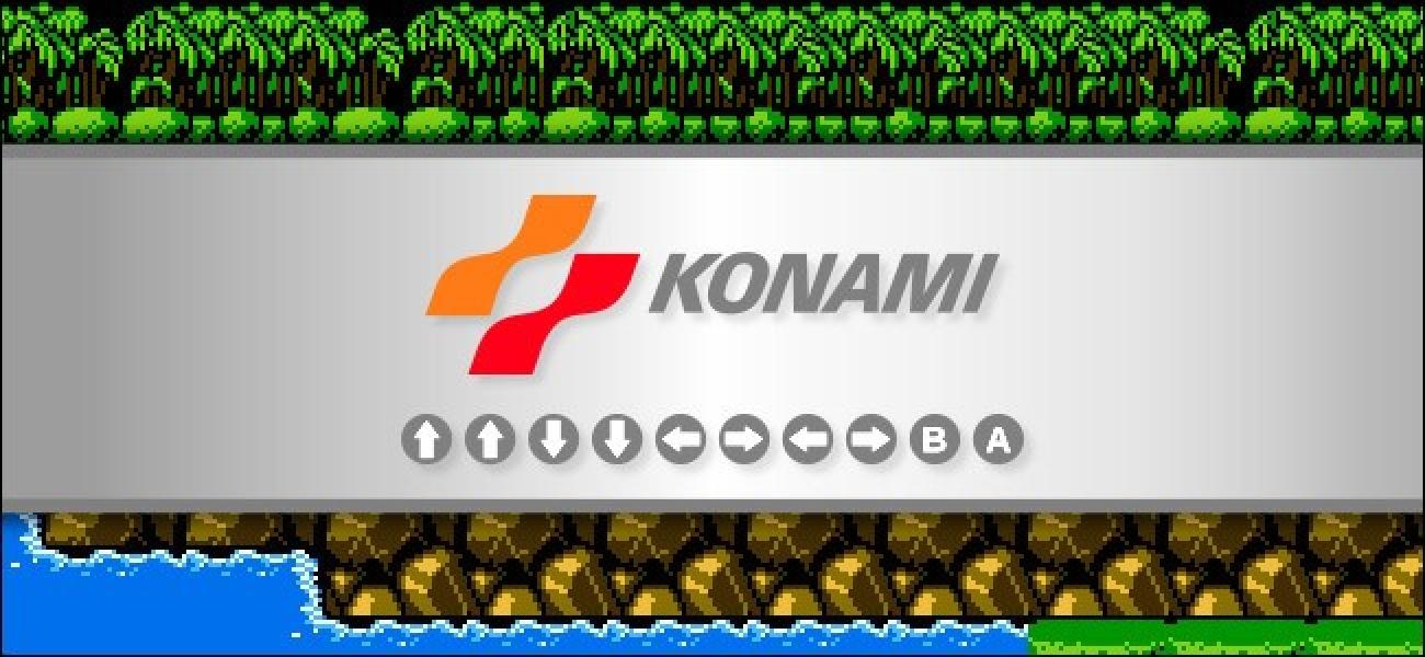 Was ist der Konami-Code und wie verwenden Sie ihn?