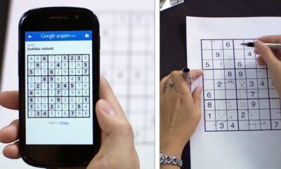 Google Goggles Scans schneller aktualisiert;  Löst Sudoku-Rätsel