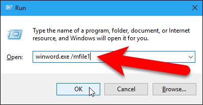 06_open_most_recent_do_using_run_dialog_box