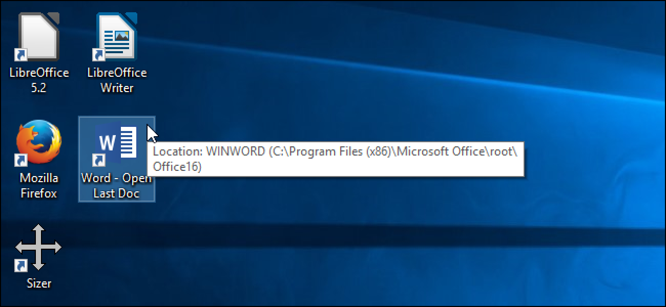 So öffnen Sie automatisch das neueste Dokument in Microsoft Word für Windows