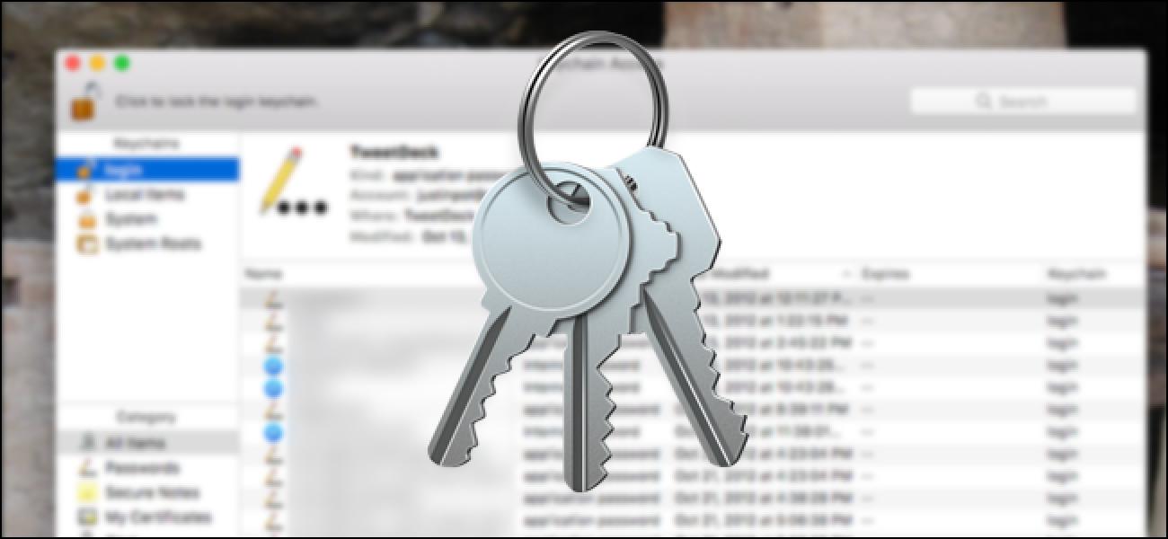 So verwalten Sie alle gespeicherten Passwörter Ihres Mac mit Schlüsselbundzugriff